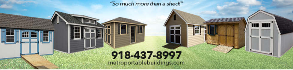 Metro Portable Buildings - Home